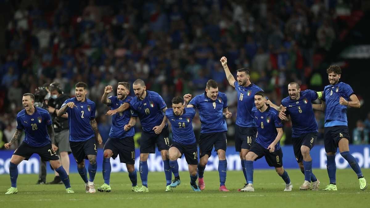 Italia se corona campeón de la Eurocopa 2020