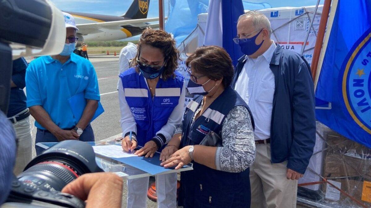 Llegan más vacunas contra la Covid-19 a Nicaragua