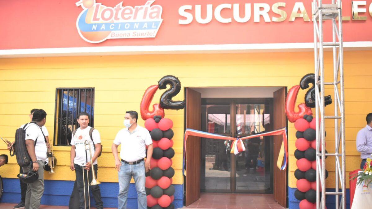 Lotería Nacional inaugura nueva sucursal en León