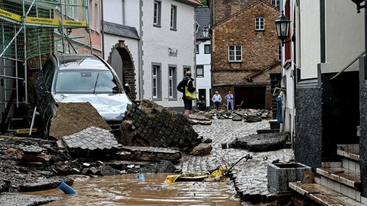 Al menos 70 desaparecidos dejan fuertes tormentas en Alemania