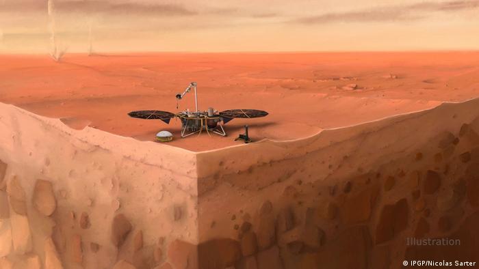 Misión Mars InSight presenta por primera vez la estructura del planeta Marte