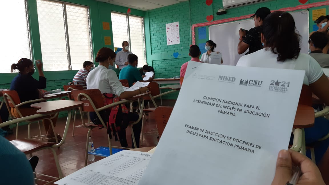 Nicaragua contratará a nuevos docentes para impartir inglés en primaria