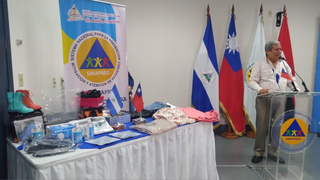 Nicaragua recibe donación de artículos de higiene personal