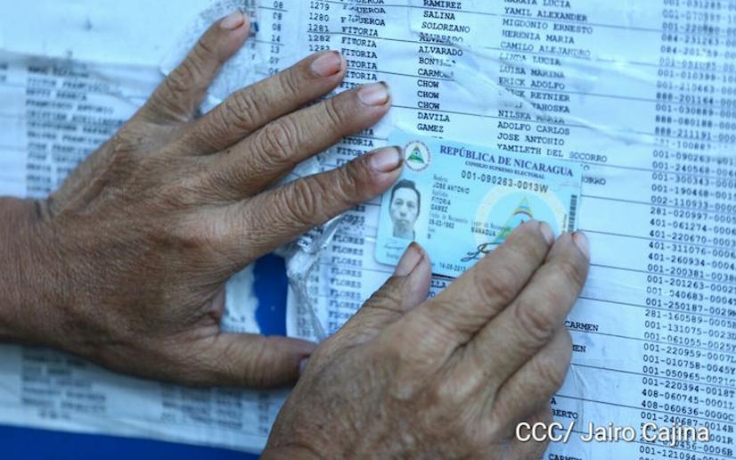 Nicaragüenses convocados a verificación ciudadana este 24 y 25 de julio