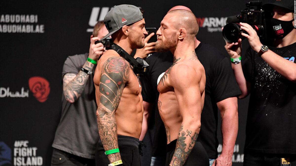 UFC: todo listo para la trilogía Poirier vs McGregor