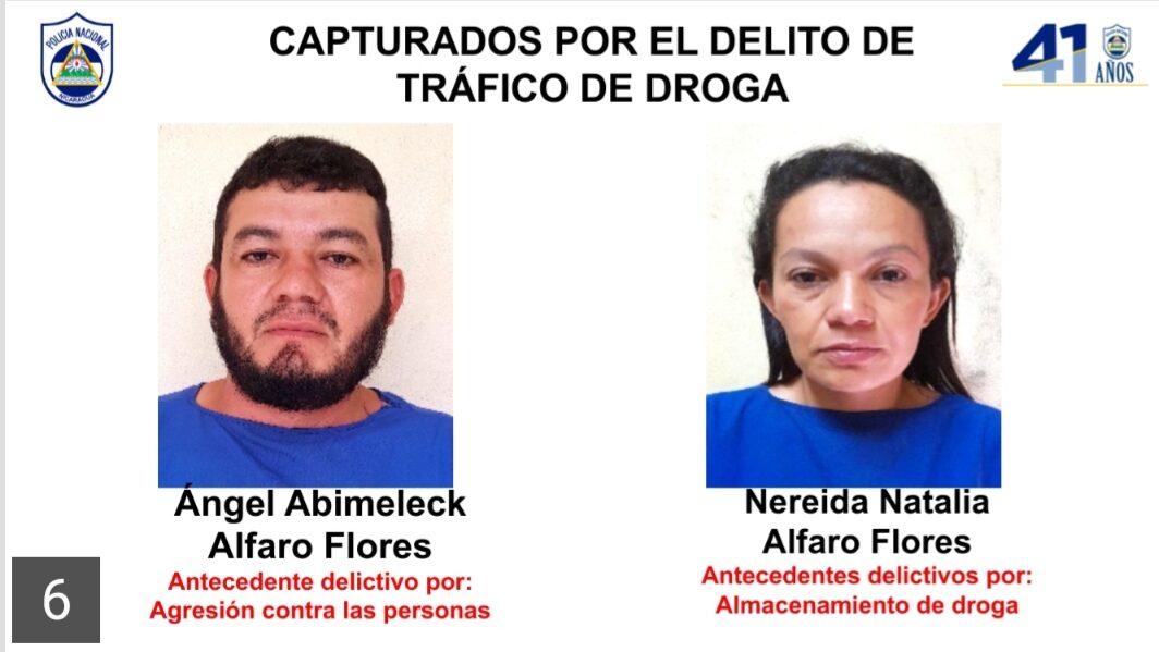 Policía Nacional incauta más de 4 kilos de Cocaína en Tipitapa