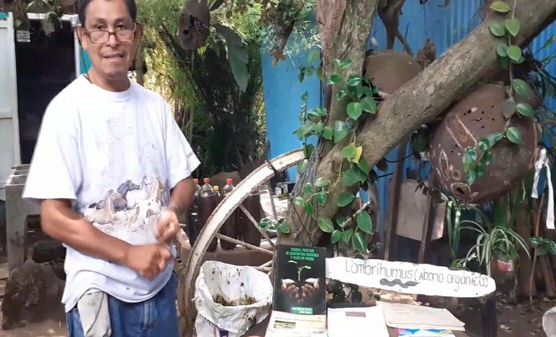 Arsenio Sánchez, un técnico forestal dedicado a producir fertilizante orgánico