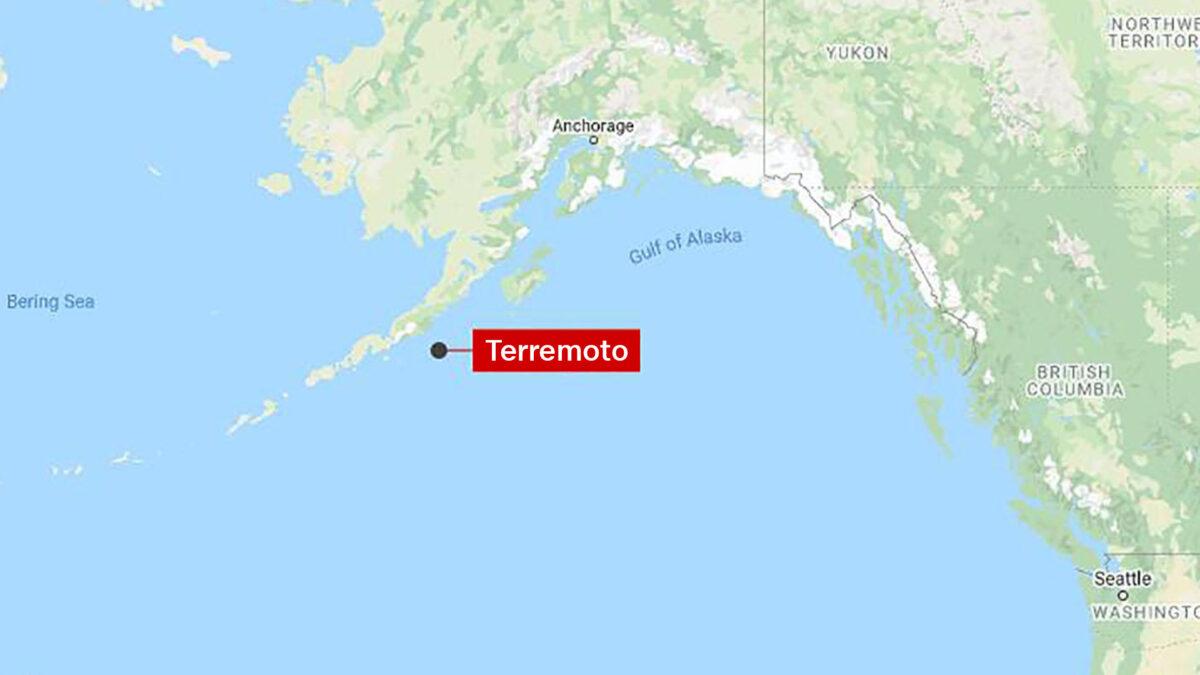 Terremoto de magnitud 8.2 sacude las costas de Alaska