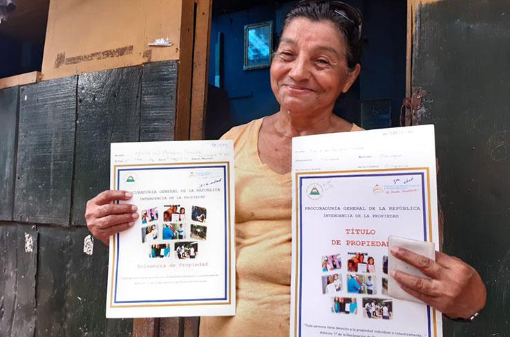 Dos mil títulos de propiedad entregará el Gobierno de Nicaragua la próxima semana