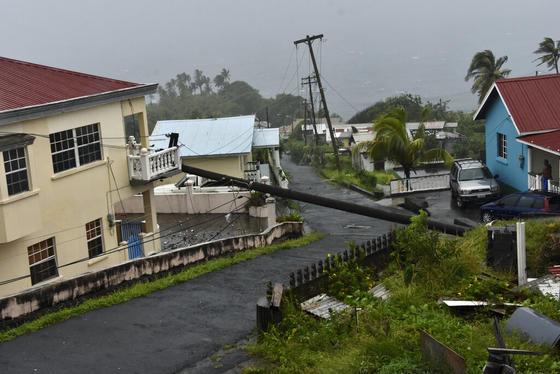 La tormenta tropical Elsa toca República Dominicana y provoca inundaciones