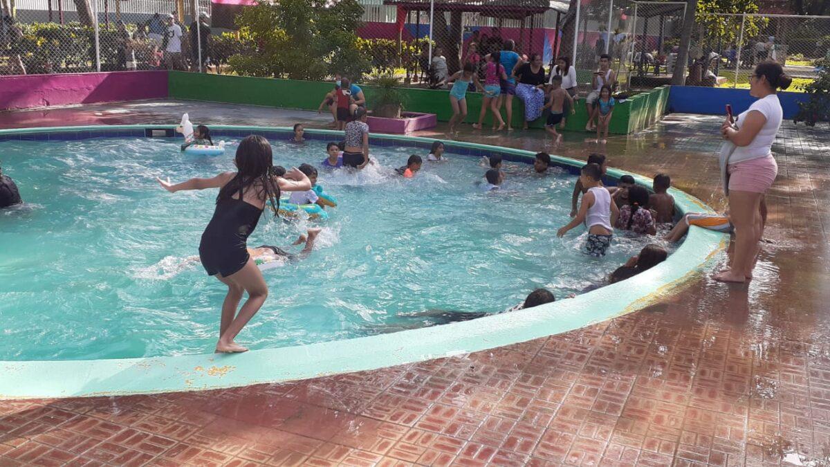 Concurrido de visitantes se mantuvo el centro recreativo Xilonem