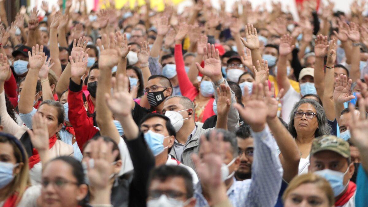 FSLN presenta su lista de candidatos a Diputados Nacionales, Departamentales y al Parlacen