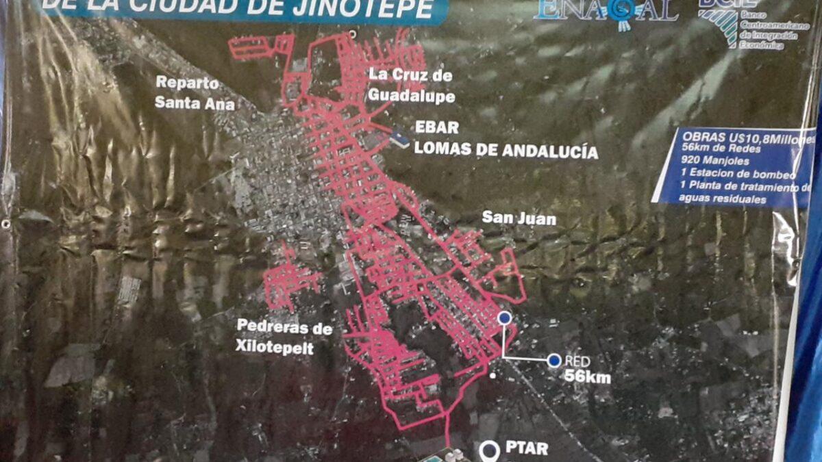 Pobladores contarán con Proyecto de Alcantarillado Sanitario en Jinotepe
