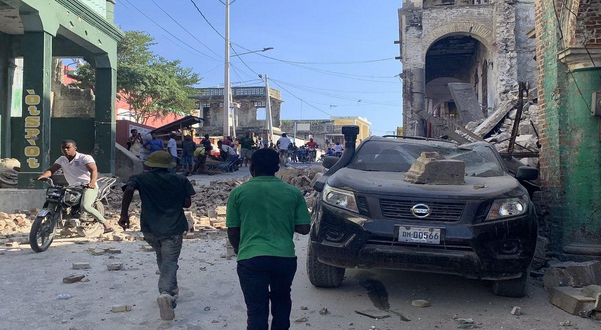 Alerta de tsunami tras terremoto de magnitud 7,2 en Haití