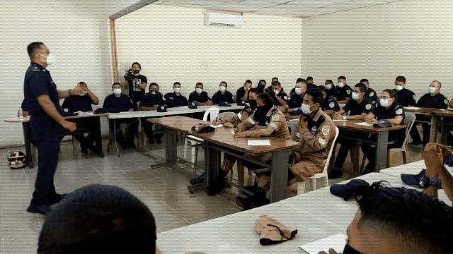 Bomberos Unificados de Nicaragua actualizan sus conocimientos