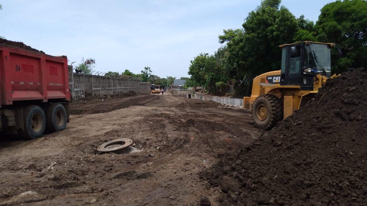 Comuna capitalina reviste más calles en barrio La Primavera de Managua
