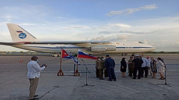 Cuba recibe nuevo cargamento de ayuda humanitaria proveniente de Rusia