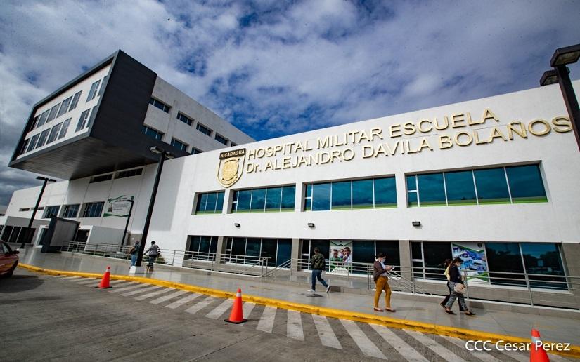 Hospital Militar se consolida como el mejor de Nicaragua y Centroamérica