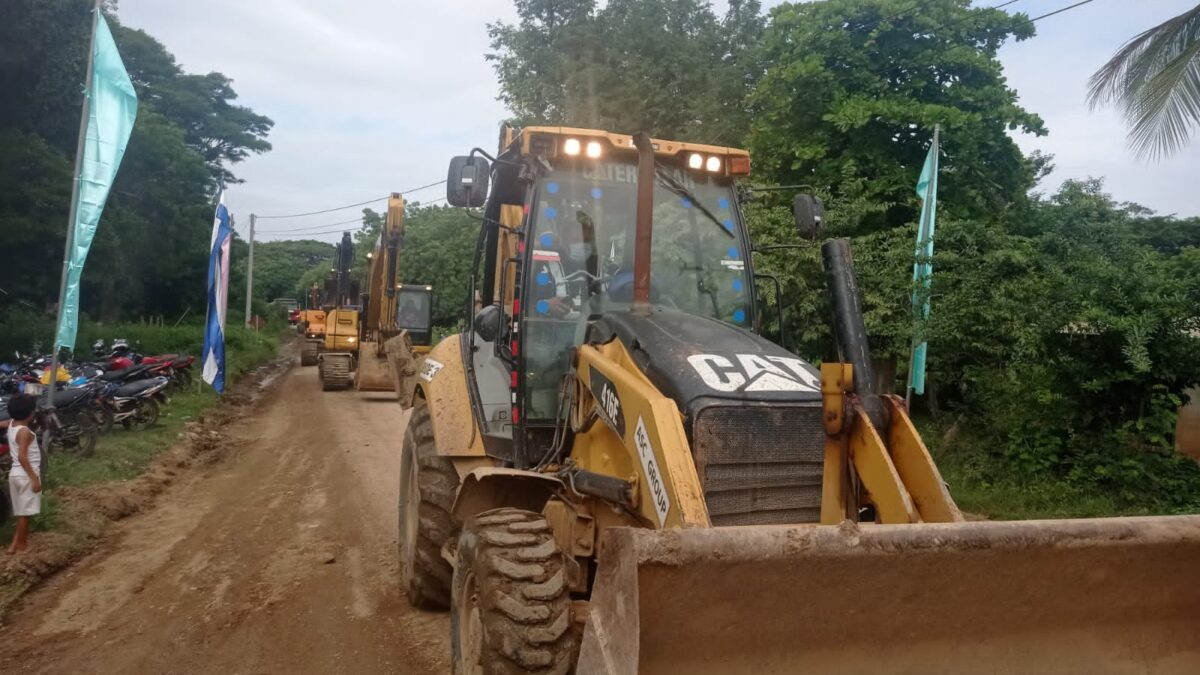 Inicia construcción del tramo carretero Ochomogo- Las Salinas en Rivas