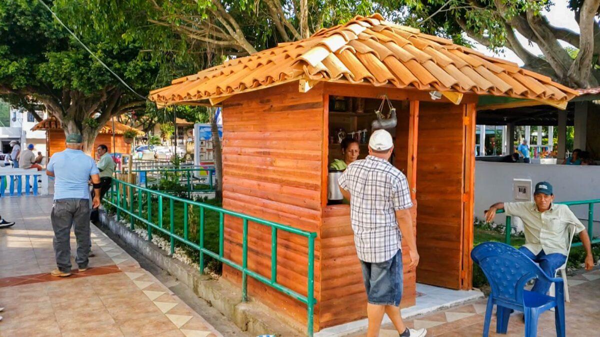 Nuevas casetas ayudan a comerciantes de Boaco a superarse