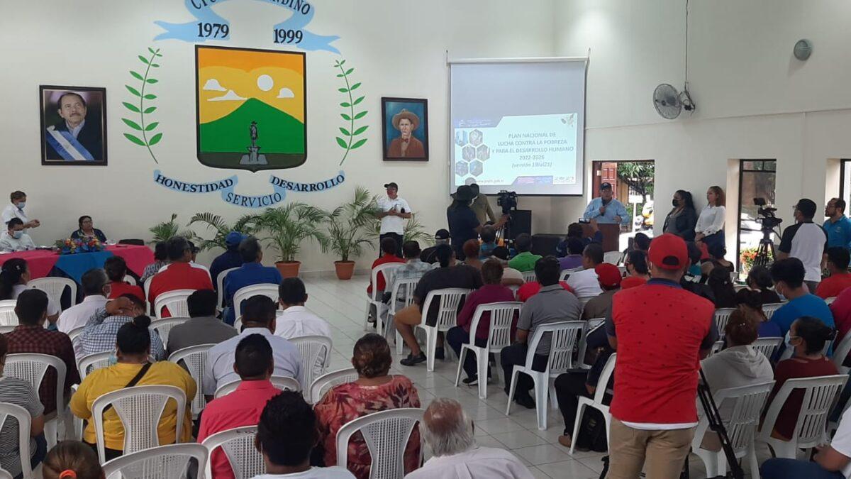 Presentan Plan Nacional de Lucha Contra la Pobreza a pobladores de Ciudad Sandino