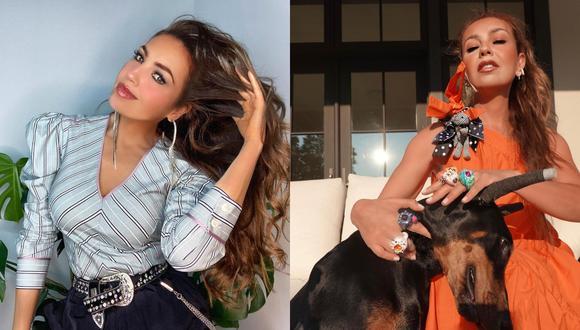 Usuarios de redes sociales acusan a Thalía de maltrato animal