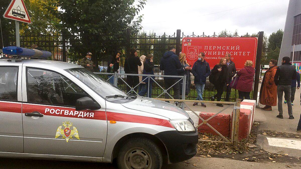 Varios muertos y heridos deja tiroteo en universidad de Rusia