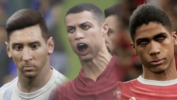 Gamers reaccionan al ver los rostros de los jugadores en el nuevo eFootball 2022