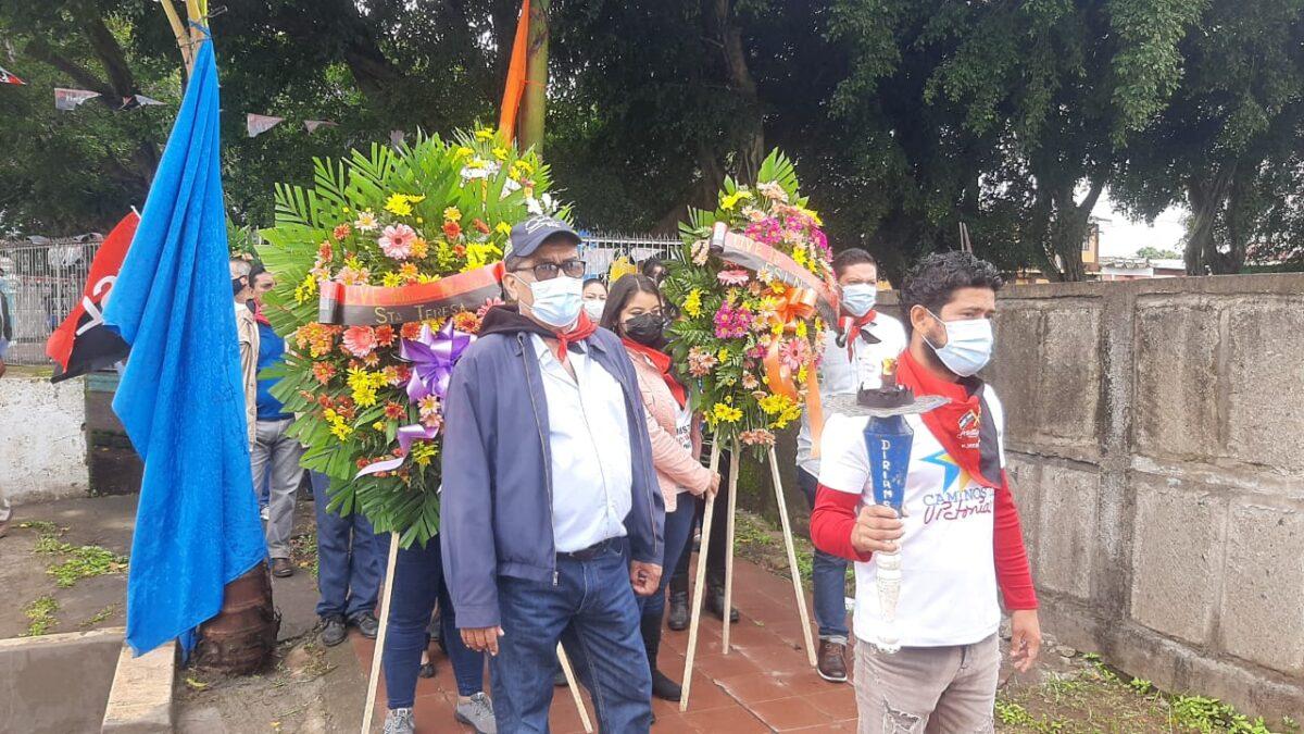 Carazo rinde homenaje a Héroes y Mártires de Nandaime