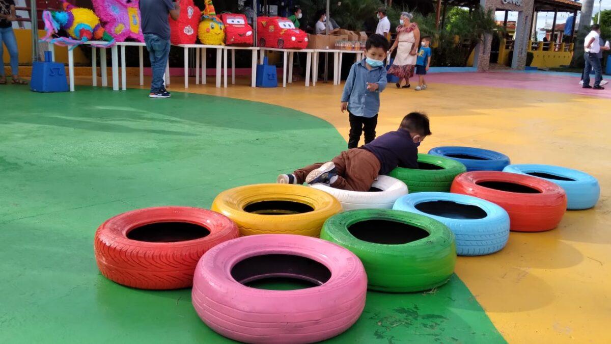 Actividades de recreación en el Puerto Salvador Allende para los infantes del hogar