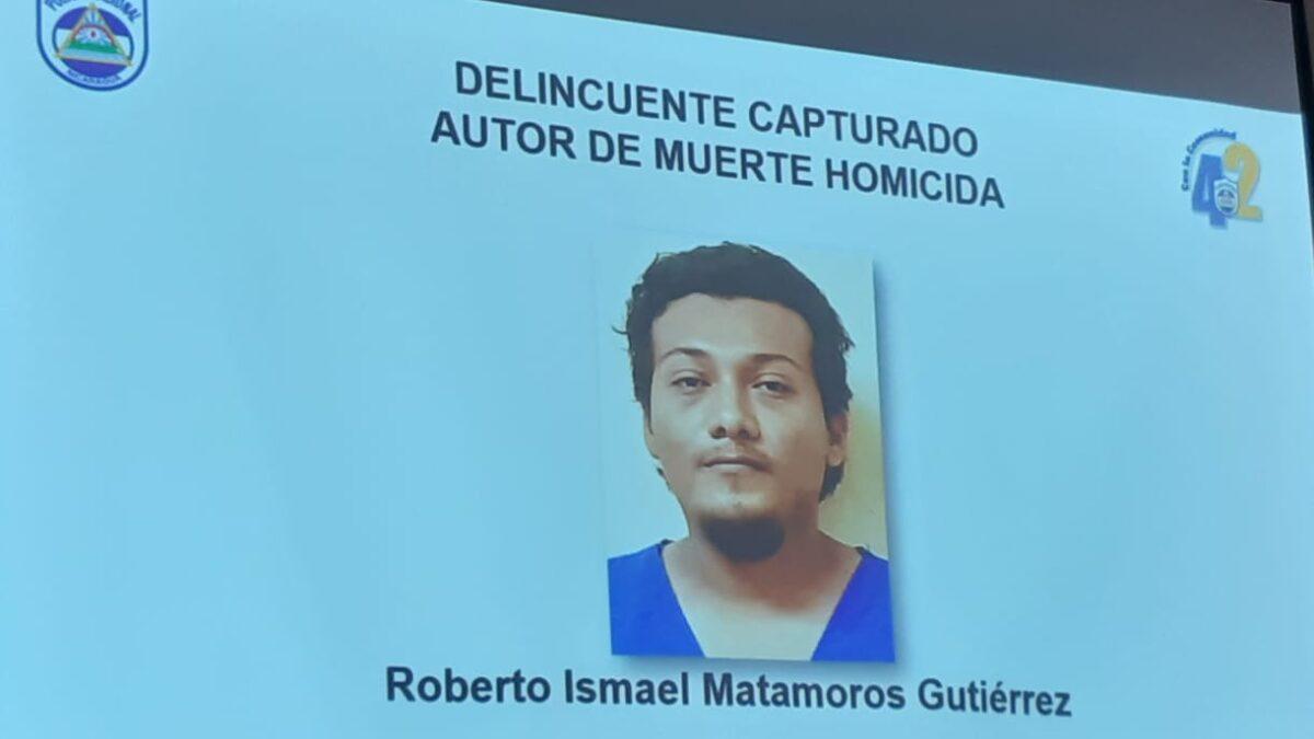 Arrestan a sujeto que mató a balazos a poblador de Tipitapa