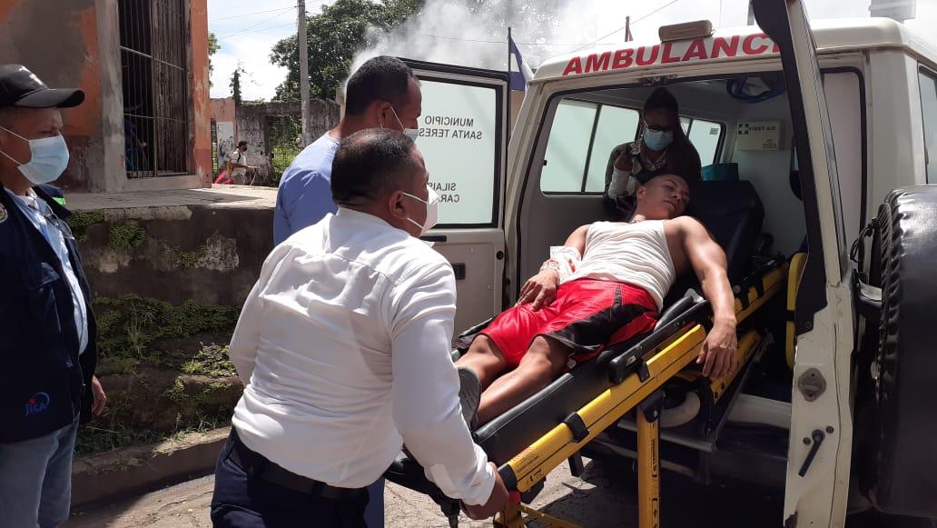 Pobladores de Santa Teresa, realizan Ejercicio de Protección a la Vida