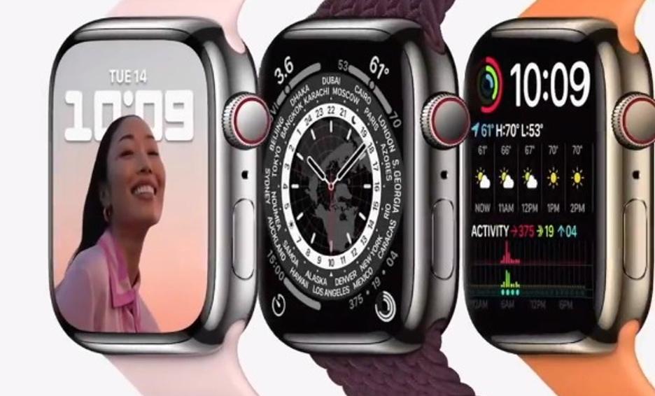 Apple revela el Apple Watch Series 7, un diseño totalmente nuevo
