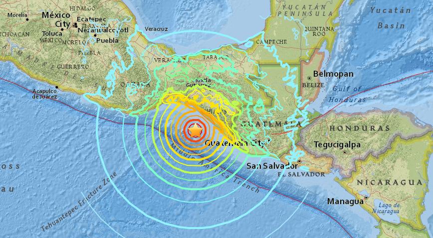 Varios sismos con intensidad mayor a 4,2 se registran en México