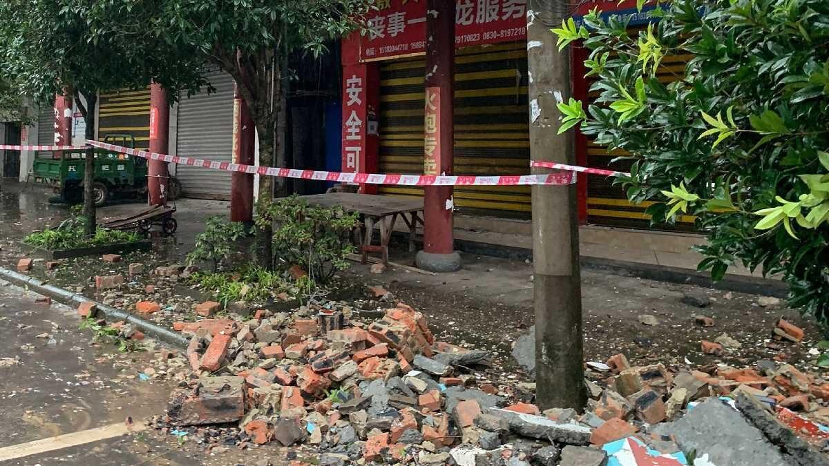 Sismo de magnitud 6.0 deja dos muertos y varios heridos en China