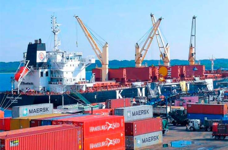 Más de 53 mil toneladas de carga han sido atendidas en puertos nicaragüenses