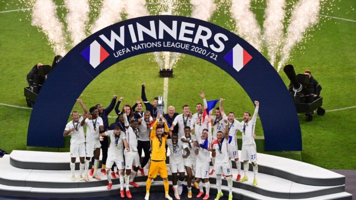 Francia se corona campeón de la Liga de Naciones tras vencer a España