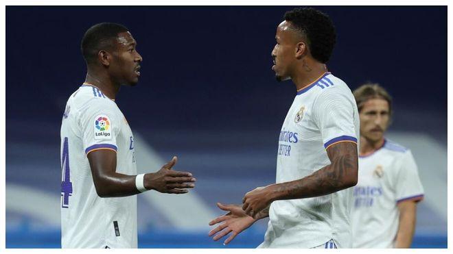 Real Madrid podría perder a Alaba y Militao ante el Shakhtar