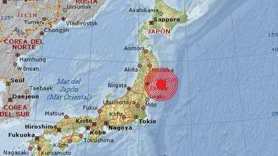 Fuerte terremoto de magnitud 6,1 sacude parte este de Japón