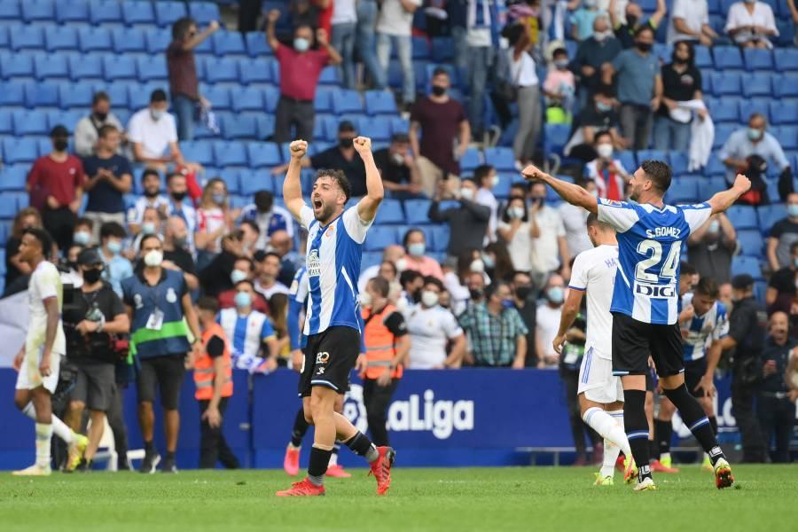 Real Madrid cae ante el Espanyol y mantiene el liderato de LaLiga