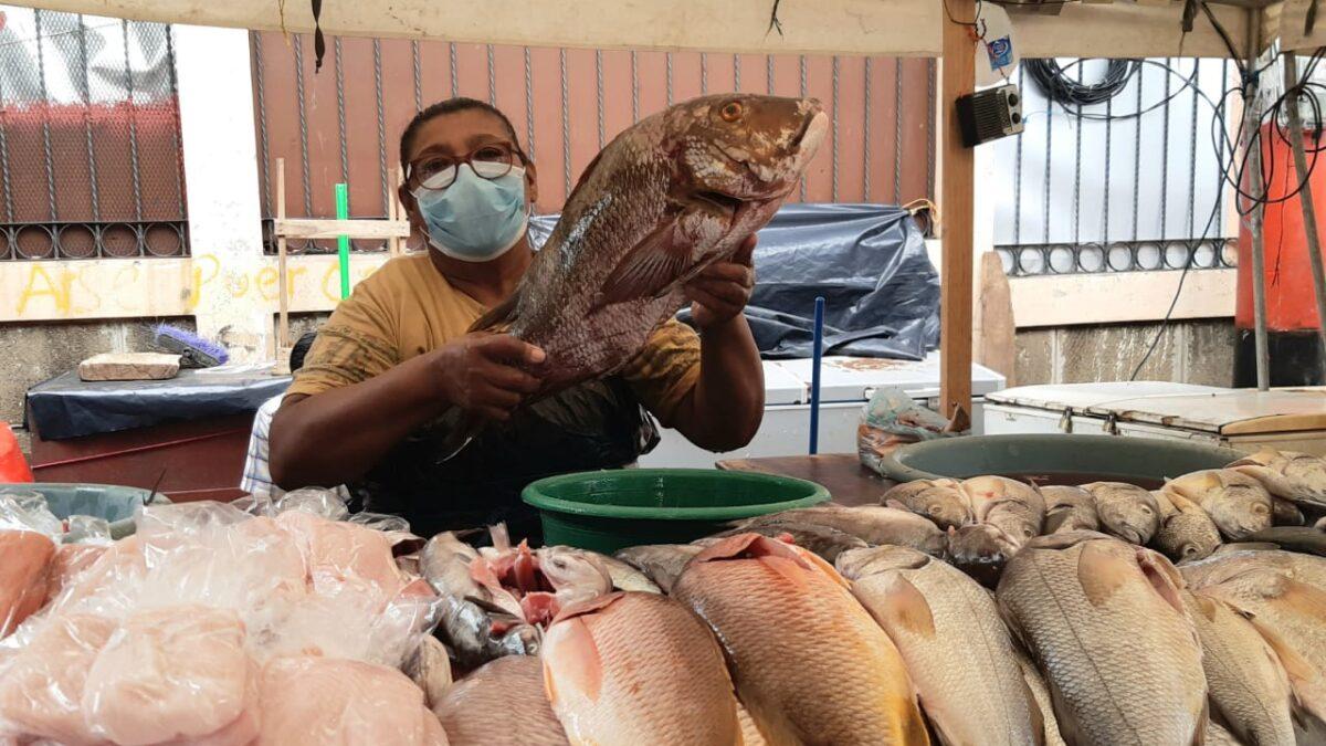 Precios de mariscos estables en el mercado Israel Lewites