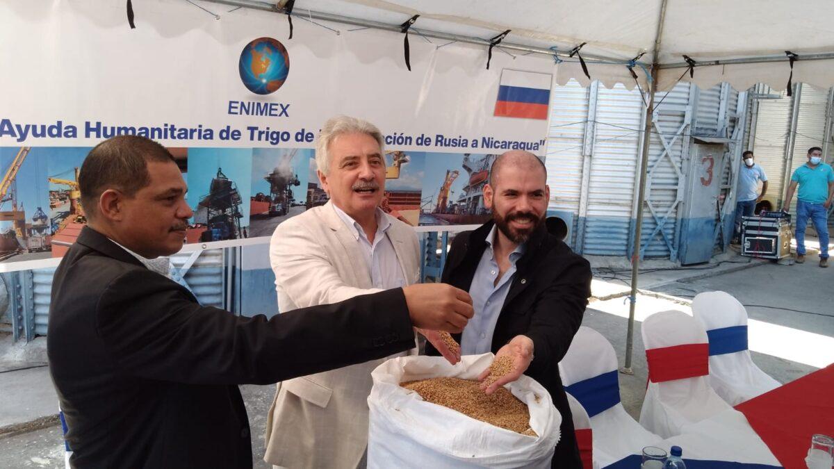 Nicaragua recibe casi 33 mil toneladas de trigo de la Federación de Rusia