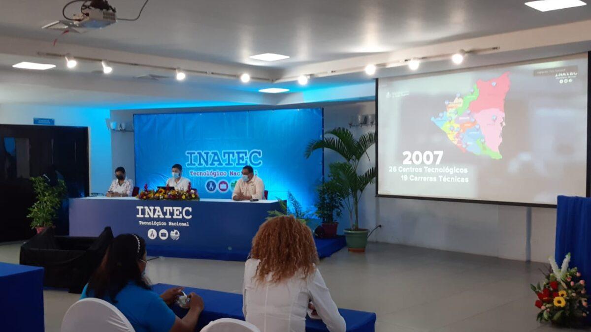 Más de 1 millón de nicaragüenses serán capacitados por Inatec