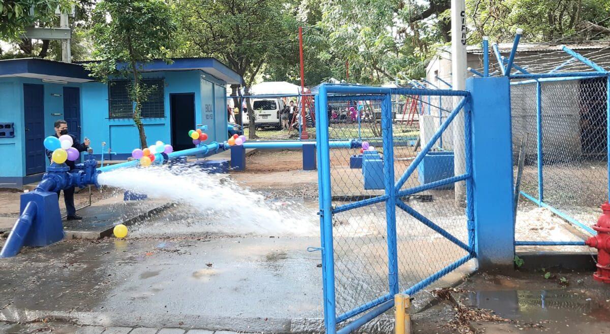 Inauguran pozo de agua potable en el distrito III de Managua
