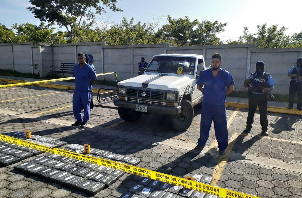 170 kilos de cocaína son incautados por la Policía Nacional en Madriz