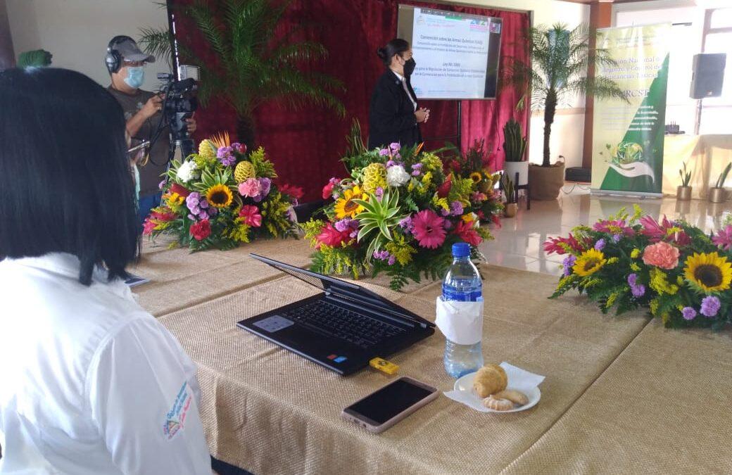 Realizan congreso sobre el Uso y Manejo de Sustancias Químicas en Nicaragua