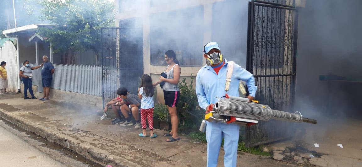 Incrementan lucha contra el Dengue en Managua