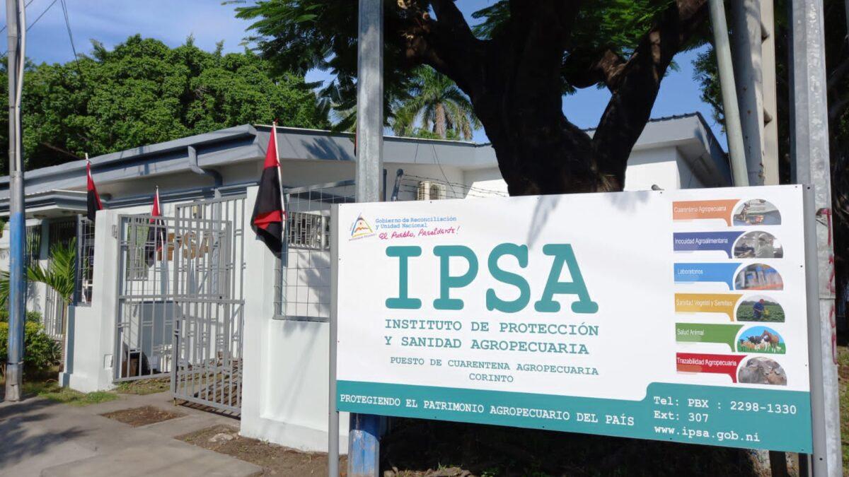 IPSA inaugura Puesto de Cuarentena Agropecuaria en Corinto, Chinandega
