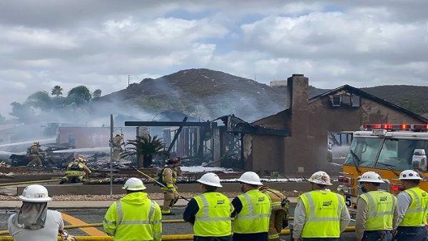 Dos muertos y 2 heridos en choque de avioneta en California
