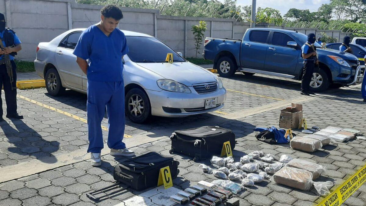 Nuevo golpe al narcotráfico asesta la Policía Nacional en Managua